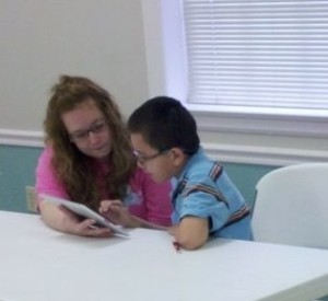 young adult volunteer tutors
